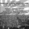 EURO TRAIN TRASH TOUR 2008: FLUFF FEST (Rokycany, CZ) + CONVERGE (Budimpešta, HU)